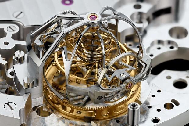 9821378a16b O dispositivo turbilhão do Reference 57260 (Foto  Reprodução vacheron- constantin.com