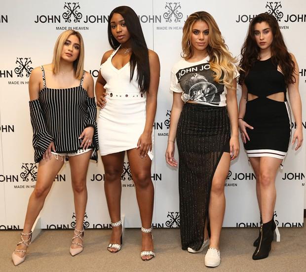 Fifth Harmony em evento em São Paulo (Foto: Manuela Scarpa/Brazil News)