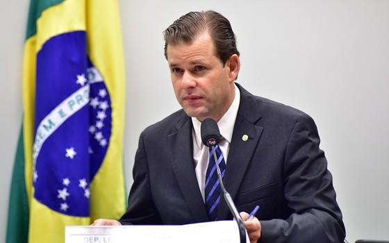 Leonardo Quintão (PMDB-MG), relator do projeto de lei sobre novo Código de Mineração (Foto: Zeca Ribeiro / Câmara dos Deputados)
