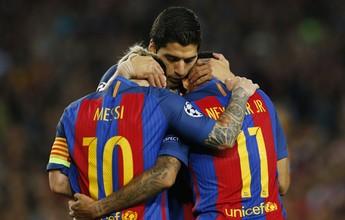 Dois anos de MSN: trio participou de quase 72% dos gols do Barcelona