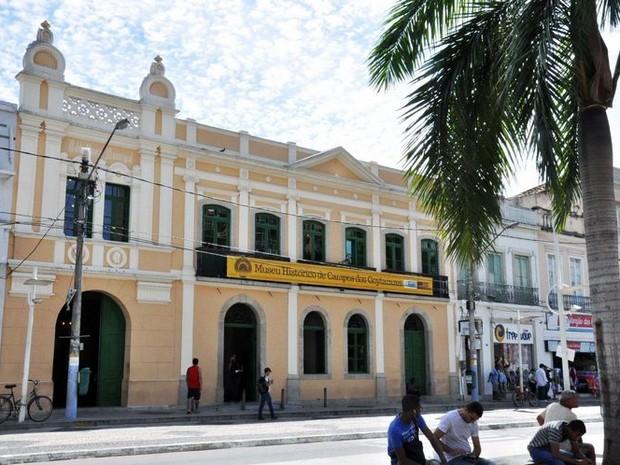 Museu Histórico faz 4 anos de inauguração na quarta-feira (29) (Foto: Ascom Campos dos Goytacazes/Divulgação)