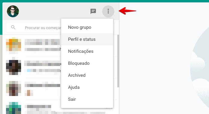Como Alterar A Mensagem De Status No Whatsapp Web No Pc Dicas E Tutoriais Techtudo