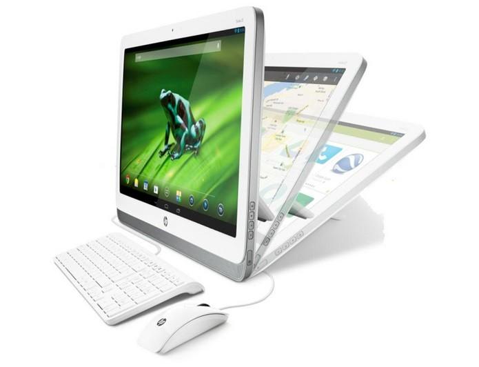 HP com Android e processador NVIDIA é bem diferente (Foto: Divulgação)