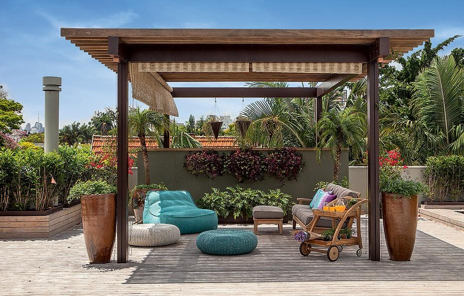 Casa fresca casa e jardim galeria de fotos - Postes para pergolas ...