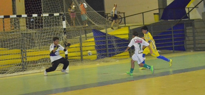 Campeonato Roraimense de Futsal Sub-11 (Foto: Nailson Wapichana)