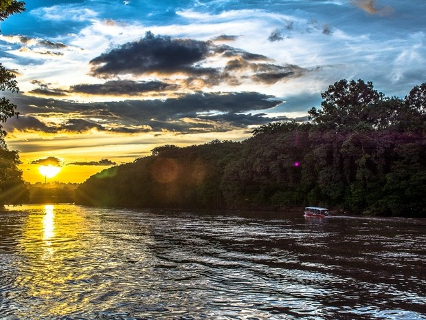 Helder Prado expõe fotografias do Rio Piracicaba no Casarão do Turismo (Foto: Helder Prado/ Arquivo pessoal)