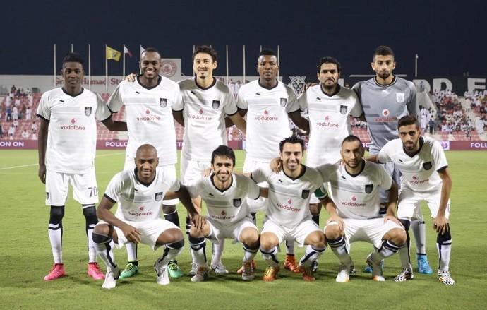 BLOG: Muriqui marca três e Xavi dá assistência em goleada do Al Sadd no Catar