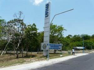 Campus da Universidade Federal do Amazonas (Foto: Carlos Eduardo Matos/G1)