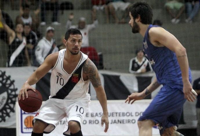 Vasco Macaé Carioca de basquete (Foto: Paulo Fernandes/Vasco)