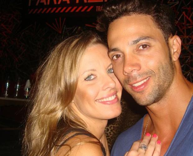 Juliana Valcézia e Ricardo Manga (Foto: Arquivo Pessoal)