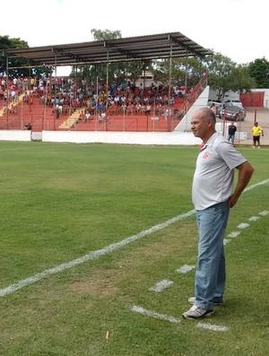 Marcelo Buarque acredita que o América TO pode voltar de Sete Lagoas com uma vitória. (Foto: Diego Souza/Globoesporte.com)