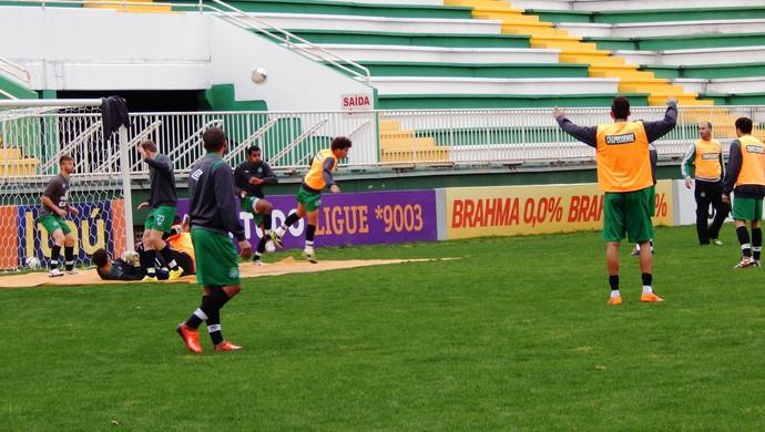 Chapecoense treino (Foto: Laion Espíndula)