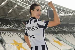 Laura Barriales, nova apresentadora do Juventus (Foto: Reprodução / Facebook)