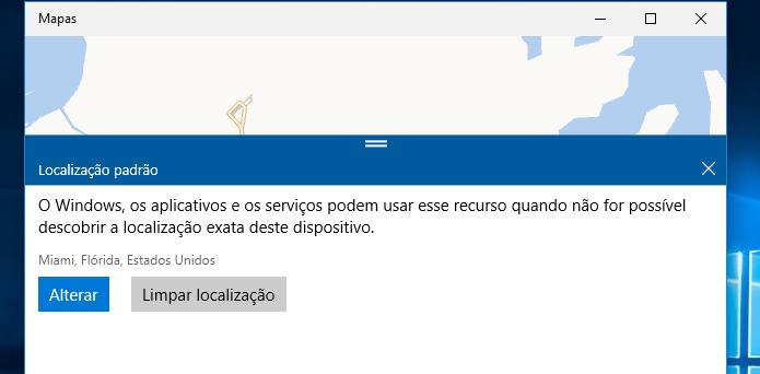 Descubra como definir a localização padrão para os apps do Windows 10 (Foto: Reprodução/Edivaldo Brito) (Foto: Descubra como definir a localização padrão para os apps do Windows 10 (Foto: Reprodução/Edivaldo Brito))