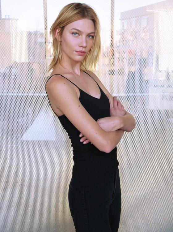 Aline Weber quer, além de modelar, também seguir na carreira de atriz (Foto: Divulgação)