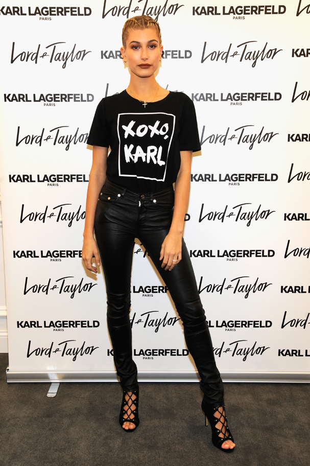 Hailey Baldwin (Foto:  Rabbani and Solimene Photography/Getty Images for Lord & Taylor)