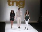 Giovanna Antonelli, Reynaldo Gianecchini e Tainá Müller desfilam na terceira noite do Fashion Rio