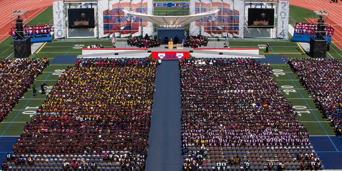 Universidade da Pensilvânia, nos Estados Unidos (Foto: Divulgação/Universidade da Pensilvânia)