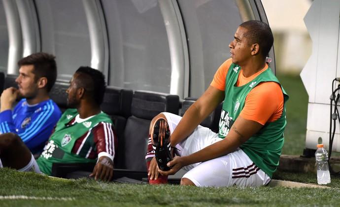 Martin Silva, Fluminense X Vasco (Foto: Andre Durão)