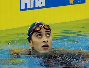 daynara de paula mundial de natação 50m borboleta (Foto: Satiro Sodré / AGIF)