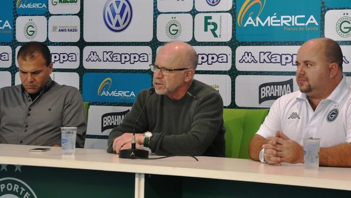 Julinho Camargo, técnico do Goiás (Foto: Guilherme Gonçalves/GloboEsporte.com)