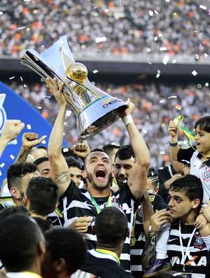 Corinthians x São Paulo Renato Augusto (Foto: Marcos Ribolli)