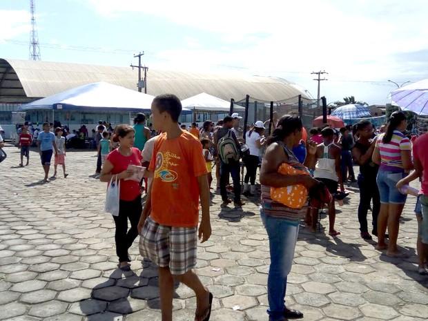 Cidade Universitária da UFMA é palco da 23ª Ação Global em São Luís (MA) (Foto: Danilo Quixaba/Mirante AM)