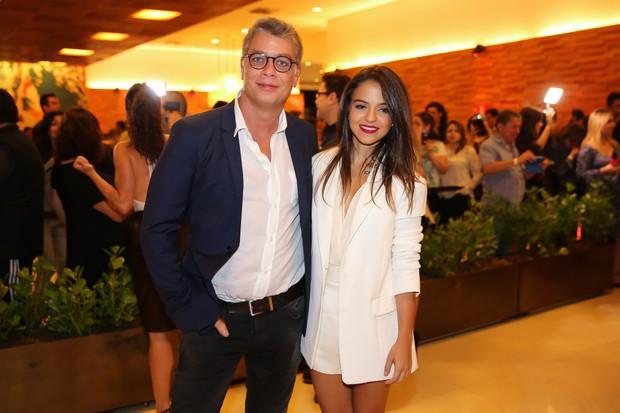 Fábio Assunção e Pally Siqueira (Foto: Manuela Scarpa/Brazil News)