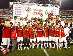 Internacional, Taça de Campeão (Foto: Alexandro Auler / Agência Estado)
