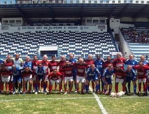 Encontro de ex-jogadores do Flamengo de Campos e do Goytacaz (Foto: Lucas R. Costa/Site oficial do Goytacaz)