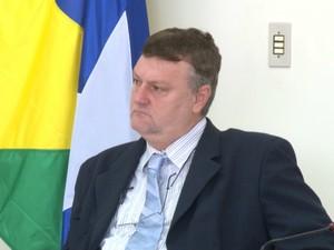 Vanderlei Graebin, vereador de Vilhena (Foto: Rede Amazônica/ Reprodução)