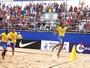 Arrasador, Brasil faz 11 a 1 no Uruguai pelo Sul-Americano de futebol de areia