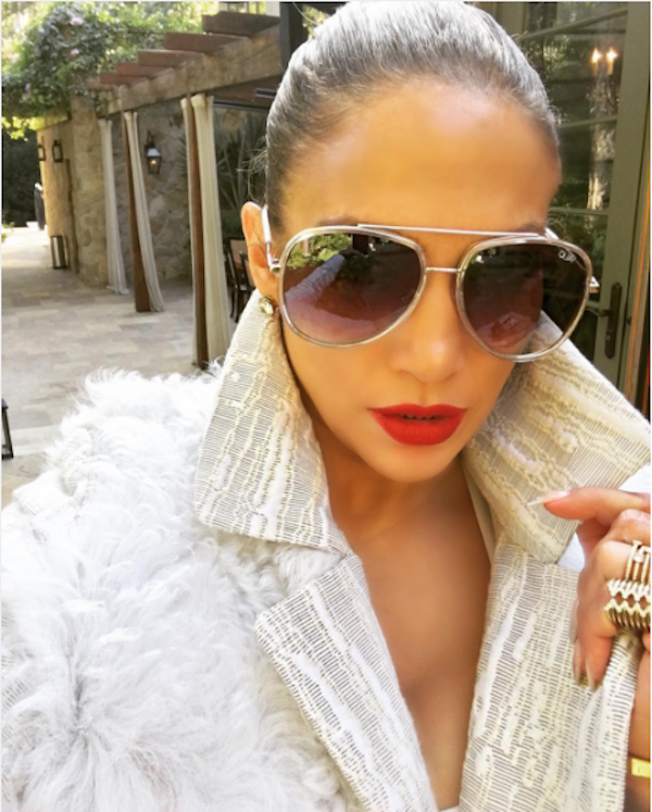 A atriz e cantora Jennifer Lopez (Foto: Instagram)