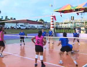 1º Fest Vôlei na Praça acontece em Porto Velho (RO) (Foto: Reprodução/TV Rondônia)