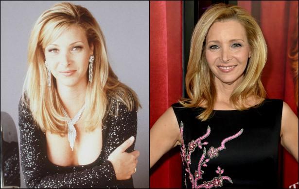 Em abril de 1996, Lisa Kudrow, a ingênua Phoebe de 'Friends', tinha 32 anos. Atualmente tem 51! (Foto: Getty Images)