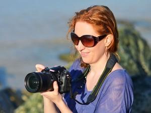 A fotógrafa Lauren Bath (Foto: Lauren Bath/Divulgação)