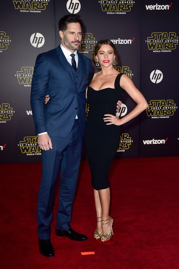 O ator Joe Manganiello e a atriz Sofía Vergara (Foto: Getty Images)