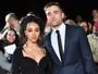 Robert Pattinson vai com FKA Twigs a première de filme na Inglaterra