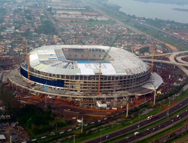 arena do grêmio foto aérea (Foto: Mauro Saraiva Júnior/Agência RBS)