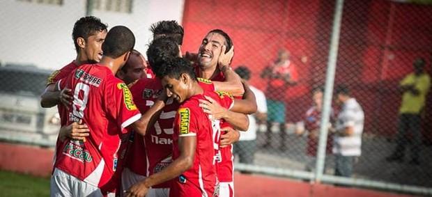Sergipe goleou o Juazeirense por 6 a 1 (Foto: Filippe Araújo/FSF)