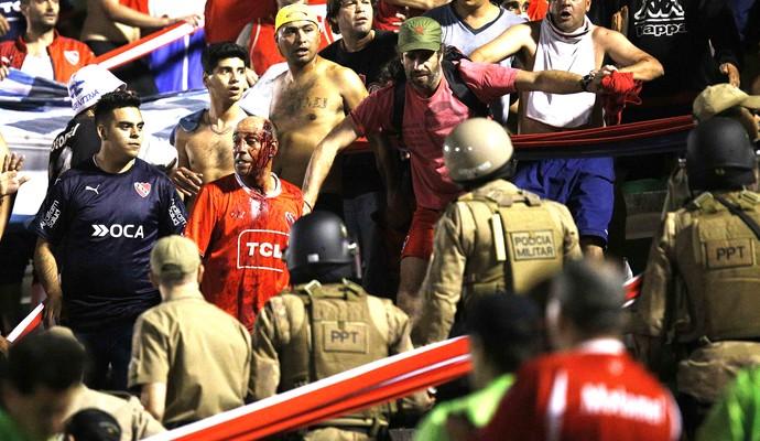 Chapecoense X Independiente (Foto: Agência EFE)