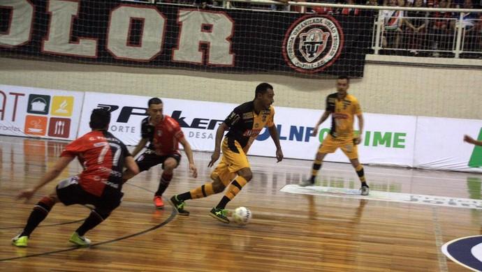 Lé Joinville x Sorocaba liga nacional de futsal (Foto: Divulgação/JEC)