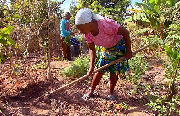 Comunidade Kalunga vive na Chapada dos Veadeiros, em Goiás (Foto: Reprodução EPTV)
