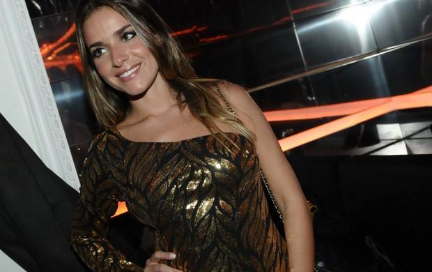 Monique Alfradique em festa em São Paulo (Foto: Francisco Cepeda/ Ag. News)