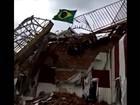Bandeira do Brasil é hasteada em área rebelde no leste da Ucrânia
