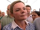 Em discurso, Gleisi Hoffmann rebate críticas do governador do Paraná