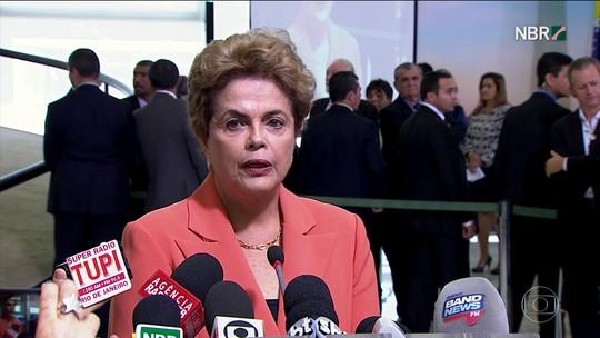 Dilma reage a vazamento de pedido do STF e acusa Delcídio de mentir