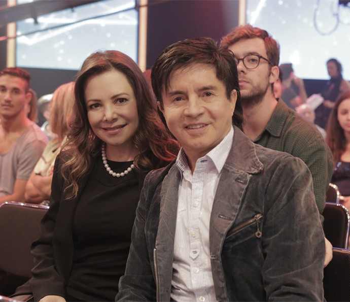 Xororó e Noely (Foto: Gshow/Ellen Soares)