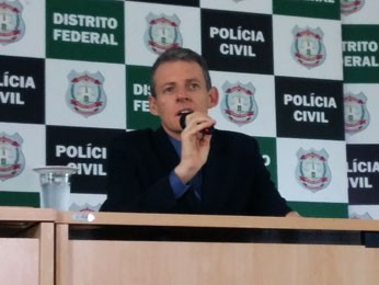 O delegado-chefe da DRF, Fernando César da Costa (Foto: Isabella Calzolari/G1)