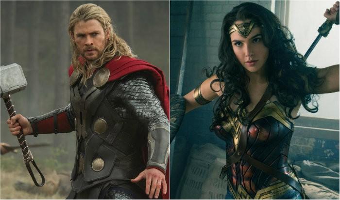 Mulher-Maravilha lutando contra o Thor? Para Gal Gadot, quem sabe um dia (Foto: Divulgação)